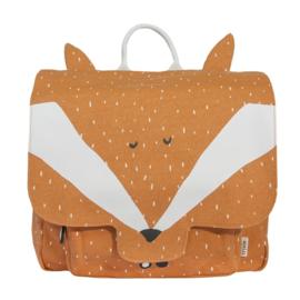 Trixie Rugzak Schooltas Satchel Mr Fox - Oranje