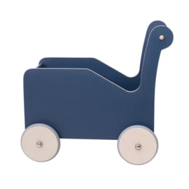 Sebra Houten Loopkar Baby Walker - Forest Lake Blue