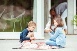 Play and Go Speelgoedkleed en opbergzak - Geo Koraal