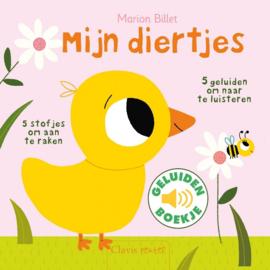 Uitgeverij Clavis Geluidenboekje - Mijn Diertjes +1jr