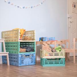 AyKasa Folding Crate Midi Box - Blue
