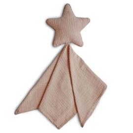 Mushie Knuffeldoek Lovely Star - Ster Natural