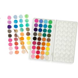 Ooly Waterverf Set - 36 kleuren