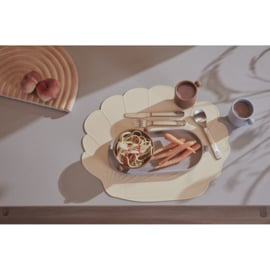 OYOY Placemat Seashell Schelp - Clay