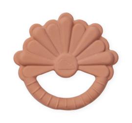 CamCam rubber bijtspeeltje Bloem - Flower Mocca
