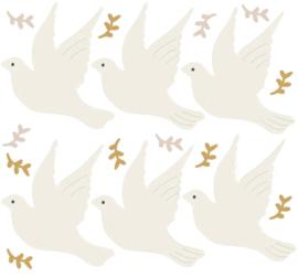 Bibelotte Muurstickers Vogels - Duiven