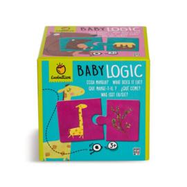 Ludattica Puzzel Baby Logic - Wie Eet Wat ? + 3jaar