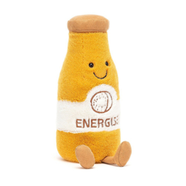 Jellycat Amuseable Knuffel Sapje Geel - Juice Energise (19 cm)