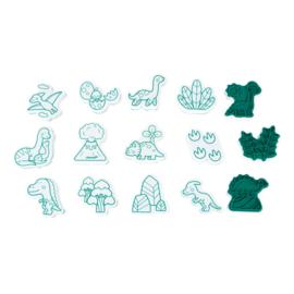 Janod Stampinoo Stempel Set - Dinosaurus (+3 jaar)