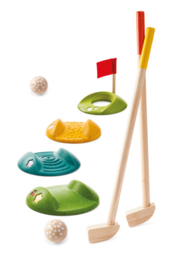 Plantoys Houten Mini Golf Speelset