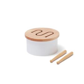Kids Concept Houten Trommel Mini - Wit