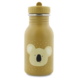 Trixie Drinkfles RVS Mr. Koala - Mosterd (350 ml)