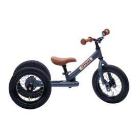Trybike Steel 2-in-1 Loopfiets - Vintage Grijs