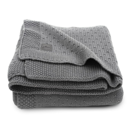 Jollein Deken Bliss Knit - Storm Grey (100 x 150 cm)