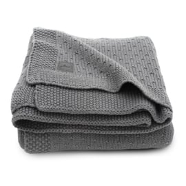 Jollein Deken Bliss Knit - Storm Grey (75 x 100 cm)