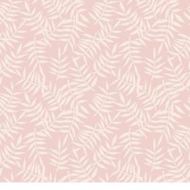 Lilipinso Tropica Behang - Tropische Bladeren Roze (H0439)