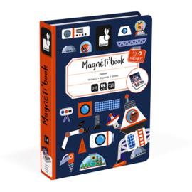 Janod Magneetboek Magneti - Heelal +3jr