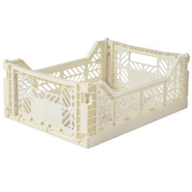 AyKasa Folding Crate Midi Box - Cream