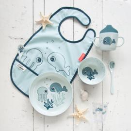 Done by Deer Mini Kom Sea Friends - Blauw