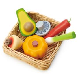 Tender Leaf Markt Mandje Groente - Veggie Basket +3j