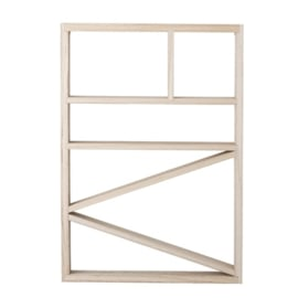 Bloomingville Wandrek Hout Bookcase - Nature (op=op)