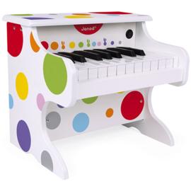 Janod Confetti - Mijn Eerste Keyboard Wit