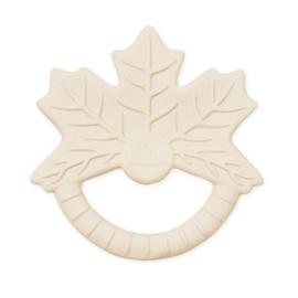 CamCam rubber bijtspeeltje blad - Maple Leaf Naturel