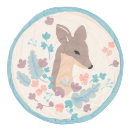Play and Go Soft Speelkleed en Opbergzak - Deer Baby