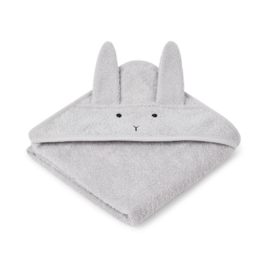 Liewood Albert Badcape - Konijn Dumbo Grey (70x70 cm)