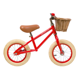 Banwood First Go Balance Loopfiets - Rood
