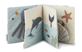 Liewood Baby Knisperboekje Sammy - Sea Creature  Mix