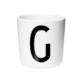 Design Letters Melamine Drinkbeker - Letter G