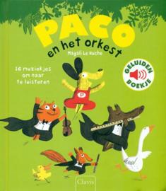 Uitgeverij Clavis Paco en het Orkest - Geluidenboekje +3jr