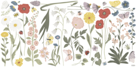 Lilipinso Countryside Muurstickers XL - Wildflowers