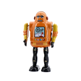 Mr & Mrs Tin Robot - Mechanic Bot