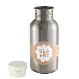 Blafre Drinkfles RVS - Wit (500ml)