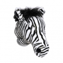 Wild and Soft Dierenkop - Zebra