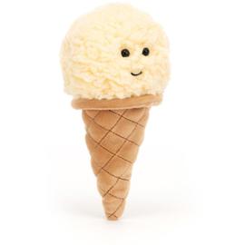 Jellycat Irresistible Ice Cream Vanilla - Knuffel IJsje