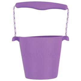Scrunch Bucket Emmer - Paars (mat)