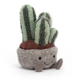 Jellycat Silly Succulent Columnar Cactus - Knuffel Cactus (15 cm)