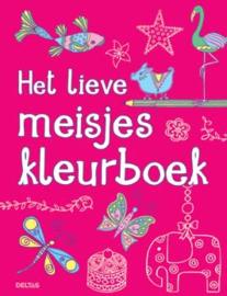 Uitgeverij Deltas Het lieve Meisjes Kleurboek