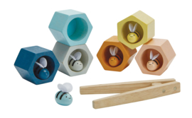Plantoys Orchard Collectie Houten Bijenkorf + 3jr