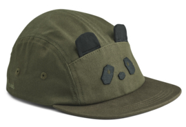 Liewood Pet Rory Cap - Panda Hunter Green (5-8 jaar)