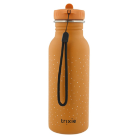 Trixie Drinkfles RVS Mr. Fox - Oranje (500 ml)
