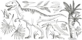 Lilipinso Dinosaurus Muursticker XL - T-Rex