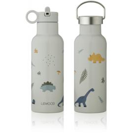 Liewood Neo Waterbottle Drinkfles - Dino Dove Blue Mix (500ml)