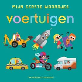 Uitgeverij Unieboek Mijn Eerste Woordjes - Voertuigen +1jr