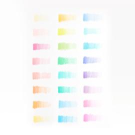 Ooly Potloden Pastel Hues Grote Set - 24 Kleurpotloden