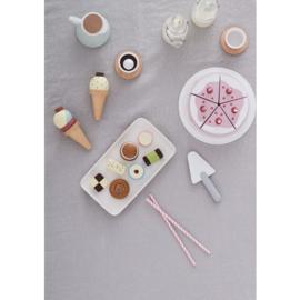 Kids Concept Houten Verjaardagstaart - Roze