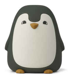 Liewood Ditlev Night Light Nachtlampje - Penguin Hunter Green
